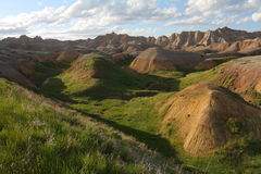 Yellow Mounds Royalty Free Stock Photo