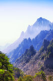 Yellow Mountain China Landscape Royalty Free Stock Image