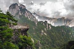 Yellow Mountain Huangshan Terrace Royalty Free Stock Photo