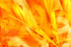 Yellow movement background. Yellow abstract with rays in fiery texture Royalty Free Stock Photos