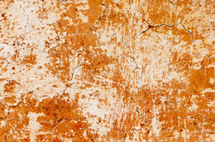 Yellow mud wall Stock Photos