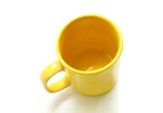 Yellow mug Stock Image