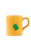 Yellow mug Royalty Free Stock Photography