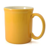 Yellow Mug Royalty Free Stock Images