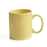 Yellow mug Stock Photography