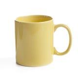 Yellow mug Stock Photography