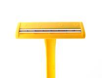 Yellow mykonos Stock Image