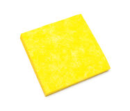 Yellow napkins for cleaning. Stock Images