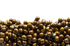 Yellow pearl Royalty Free Stock Photo