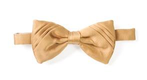 Yellow necktie Stock Images