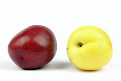 Yellow nectarines Royalty Free Stock Photography