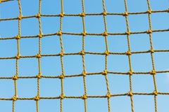 Yellow net Royalty Free Stock Image