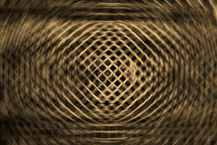 Yellow net and round background Stock Photography