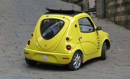 Yellow Neuspeed car Stock Image