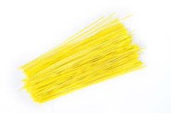 Yellow noodles Royalty Free Stock Photos