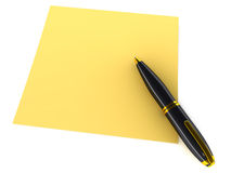 Note pen Stock Images