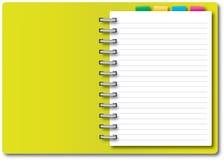 Yellow Notebook Stock Photos