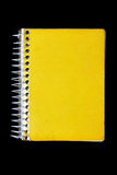 Yellow notebook Royalty Free Stock Photos