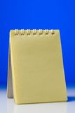 Yellow notepad Royalty Free Stock Photo