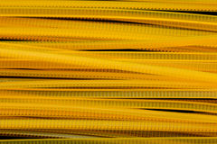 Yellow Nylon Cable Ties Stock Image
