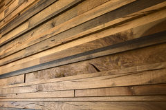Yellow oak planks Stock Image