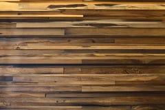 Yellow oak planks Stock Photography