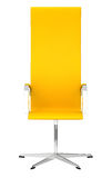 Yellow office chair Stock Photos