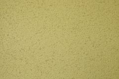 Yellow old cement wall concrete backgrounds. Textured Royalty Free Stock Image