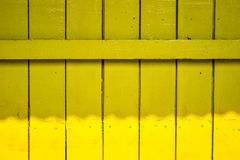 Yellow old fence Wood Background Royalty Free Stock Photos