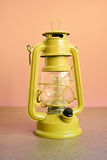 Yellow old lamp. Stock Image