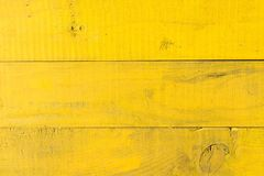 Yellow old pine boards close up shot stock photo