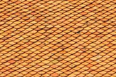 Yellow Old Tile Pattern, Oriental Style Royalty Free Stock Image