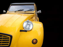 Yellow old timer Royalty Free Stock Photos