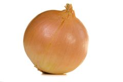 Yellow onion Stock Photos