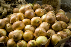 Yellow Onions 1 Royalty Free Stock Photography