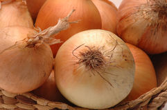 Yellow onions 2 Royalty Free Stock Photography