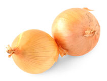 Yellow onions Stock Photography