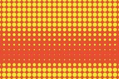 Yellow-orange ημίτονο σχέδιο λαϊκό ύφος τέχνης Ψηφιακή κλίση επίσης corel σύρετε το διάνυσμα απεικόνισης Στοκ φωτογραφία με δικαίωμα ελεύθερης χρήσης