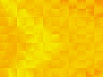 Yellow and Orange Abstract Background. Yellow and Orange Abstract Tile Background.  Light effect in center and moves to corners.  Yellow is the dominant color Stock Images