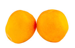 Yellow-orange apricots, close up Royalty Free Stock Images