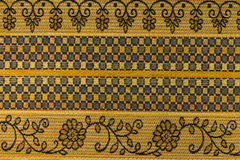 Yellow - orange background with geometric patterns Royalty Free Stock Photo