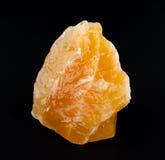Yellow Orange Calcite From Mexico Stock Photos