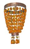 Yellow and Orange Chandelier Stock Photos