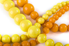 Yellow and orange chaplet Royalty Free Stock Photos