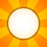 Yellow orange circular background Royalty Free Stock Image