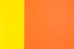 Yellow and orange color paper background Stock Photo