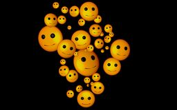 Yellow, Orange, Emoticon, Smile Royalty Free Stock Photo