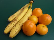 Yellow and orange fruit Royalty Free Stock Photography
