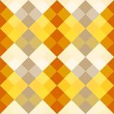 Yellow, orange, gray harmony simple squares Royalty Free Stock Image
