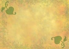 Yellow - orange - green background Royalty Free Stock Image